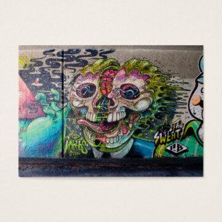 Crazy Kind Of Horror Skull Graffiti