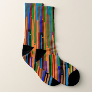 Crazy Large Colorful Socks 1