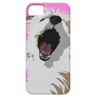 Crazy lioness dog! iPhone 5 covers