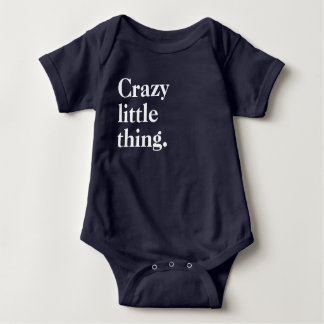 Crazy Little Thing Baby Bodysuit