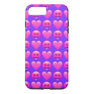 Crazy Love Emoji iPhone 7 Plus Phone Case