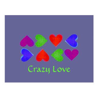 Crazy Love Postcards