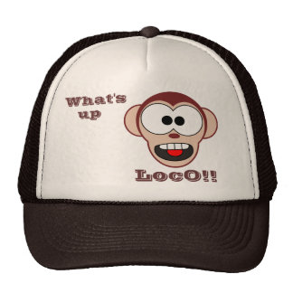 Crazy Monkey Cap