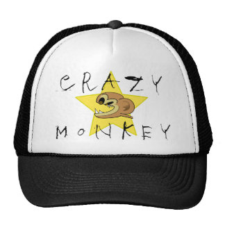 Crazy Monkey Hat
