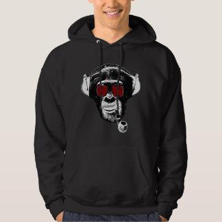 Crazy monkey hoodie
