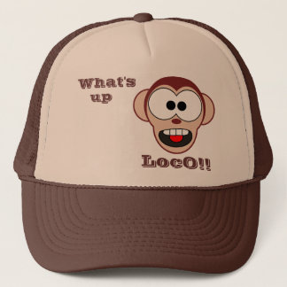 Crazy Monkey Trucker Hat