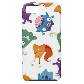 Crazy Monsters Fun Colorful Patterns for Kids iPhone 5 Case
