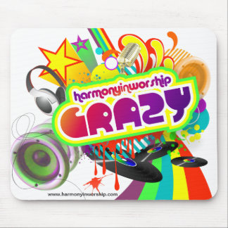 """Crazy"" Mousepad"