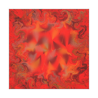 CRAZY NETWORK ABSTRACT CANVAS PRINT