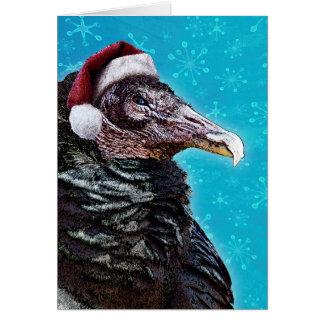 Crazy Old Buzzard Christmas Card