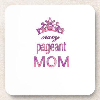 Crazy pageant mom coaster