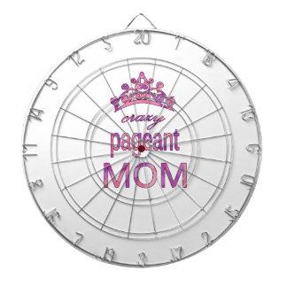 Crazy pageant mom dartboard