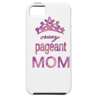Crazy pageant mom tough iPhone 5 case