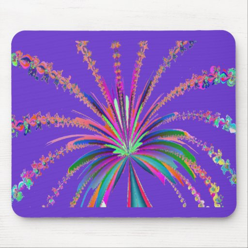 CRAZY PALM TREE MOUSE PAD