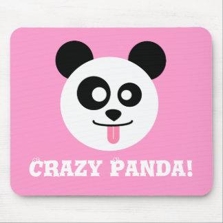 Crazy Panda Mouse Pad