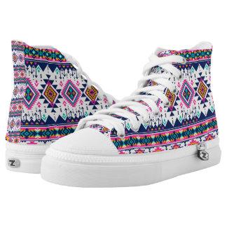 Crazy pattern shoes