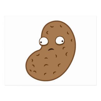 crazy peanut postcard