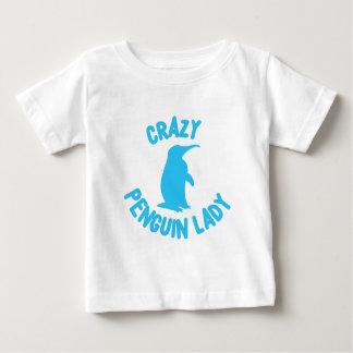 crazy penguin lady baby T-Shirt