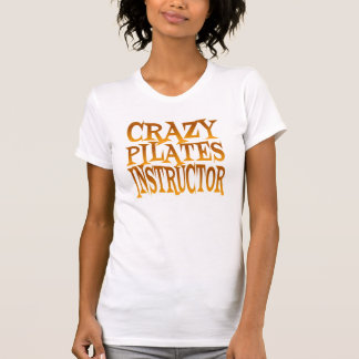 Crazy Pilates Instructor in Gold T-Shirt