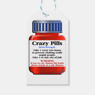 Crazy Pills_ Gift Tags