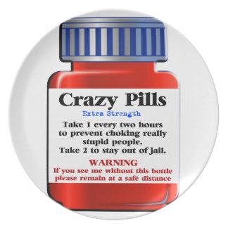 Crazy Pills_ Plate