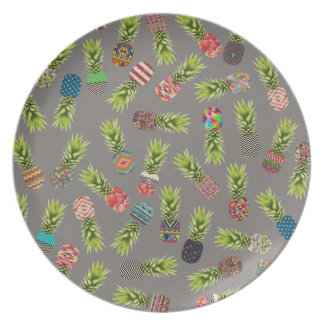 Crazy Pineapple Party Plate