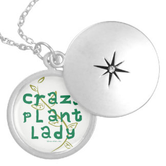 Crazy Plant Lady Necklace