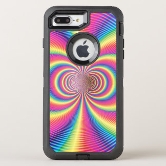 Crazy Psychedelic Pattern OtterBox Defender iPhone 8 Plus/7 Plus Case