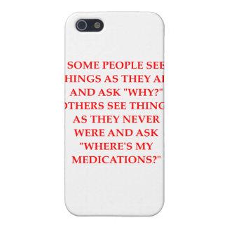 crazy psychiatrist joke iPhone 5 cover