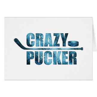 Crazy Pucker (Hockey) Card