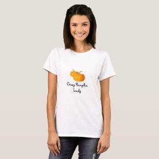 Crazy Pumpkin Lady Shirt