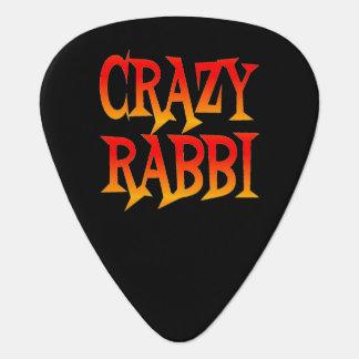 Crazy Rabbi in Bright Colors Plectrum
