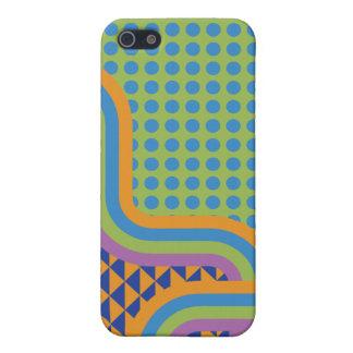 Crazy Random Pattern Phone Cover iPhone 5 Case