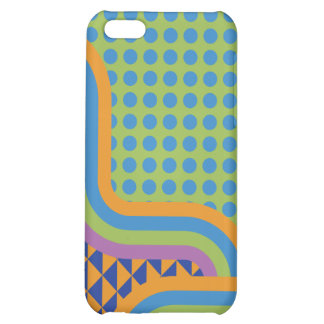 Crazy Random Pattern Phone Cover iPhone 5C Cases