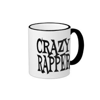 Crazy Rapper Ringer Mug