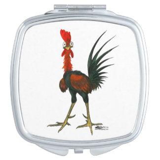 Crazy Rooster Makeup Mirror