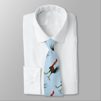 Crazy Rooster Tie
