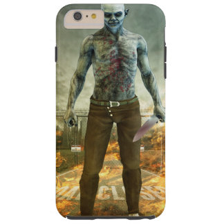Crazy Scary Monster Apocalyptic Scene Tough iPhone 6 Plus Case