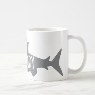 Crazy Shark Lady Coffee Mug