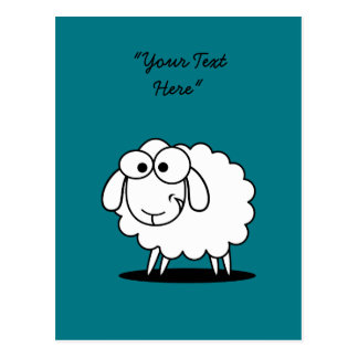 Crazy Sheep postcard