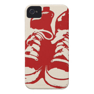"Crazy Shoes ""old shoe"" mug iPhone 4 Case-Mate Case"