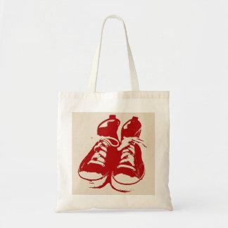 """Crazy Shoes """"Shoe Bag"""" Budget Tote Bag"""