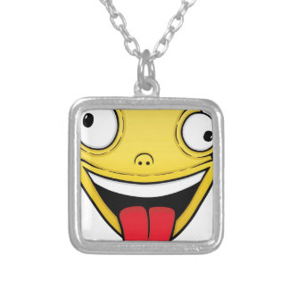 Crazy Silver Plated Necklace