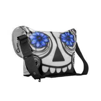 Crazy Skull Courier Bags