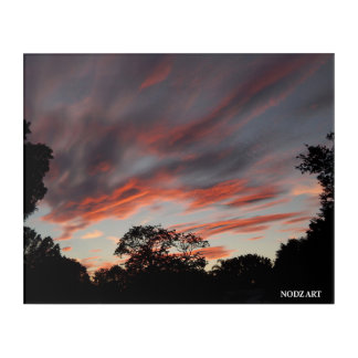 CRAZY SKY ACRYLIC WALL ART