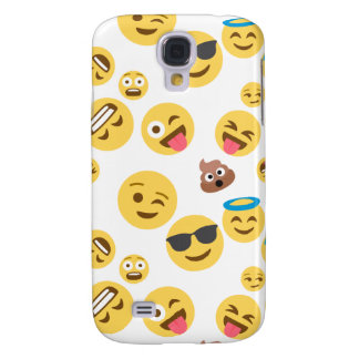 Crazy Smiley Emojis Samsung Galaxy S4 Case