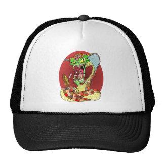 Crazy SNAKE Hats