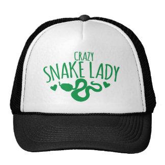 Crazy Snake Lady Cap