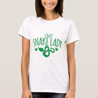 Crazy Snake Lady T-Shirt