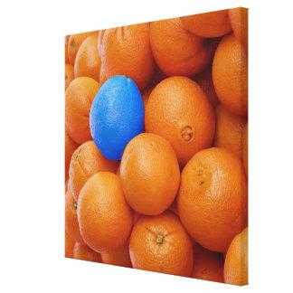 crazy splash oranges canvas prints